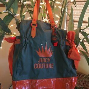 🎒 Juicy Couture tote - Grey & Orange
